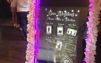 Hooper Wedding Photo Booth – White Horse – Tea Green